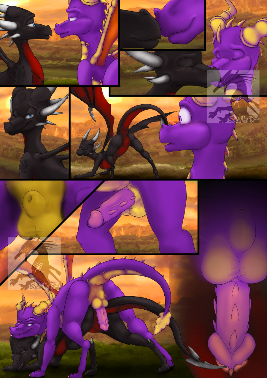 to dragons how lewd the Number 2891 you and me original comic