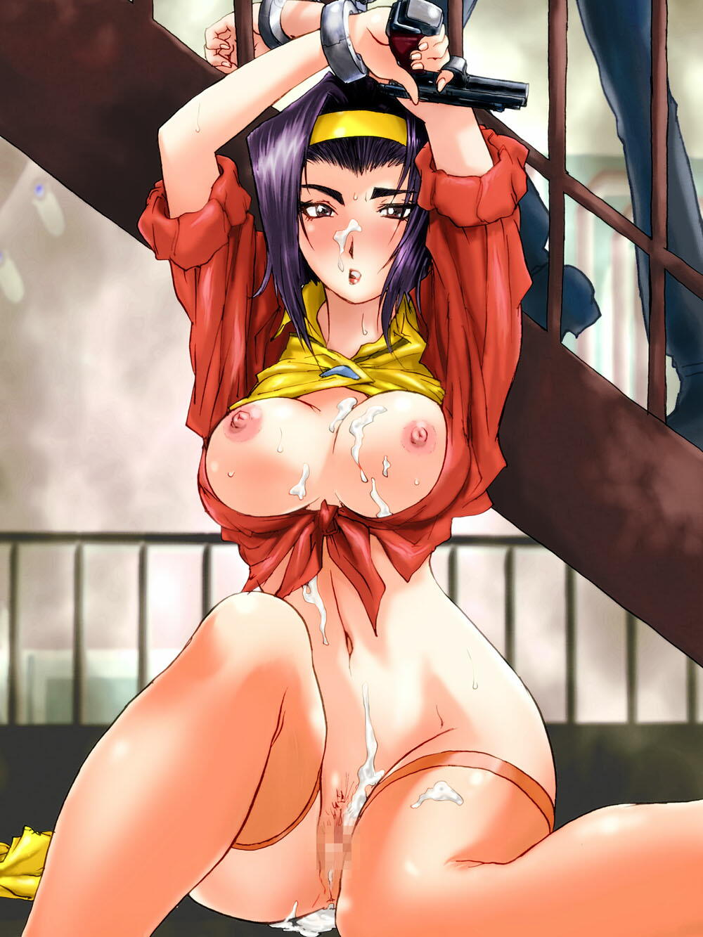 cowboy bebop judy punch and King of the hill porn images