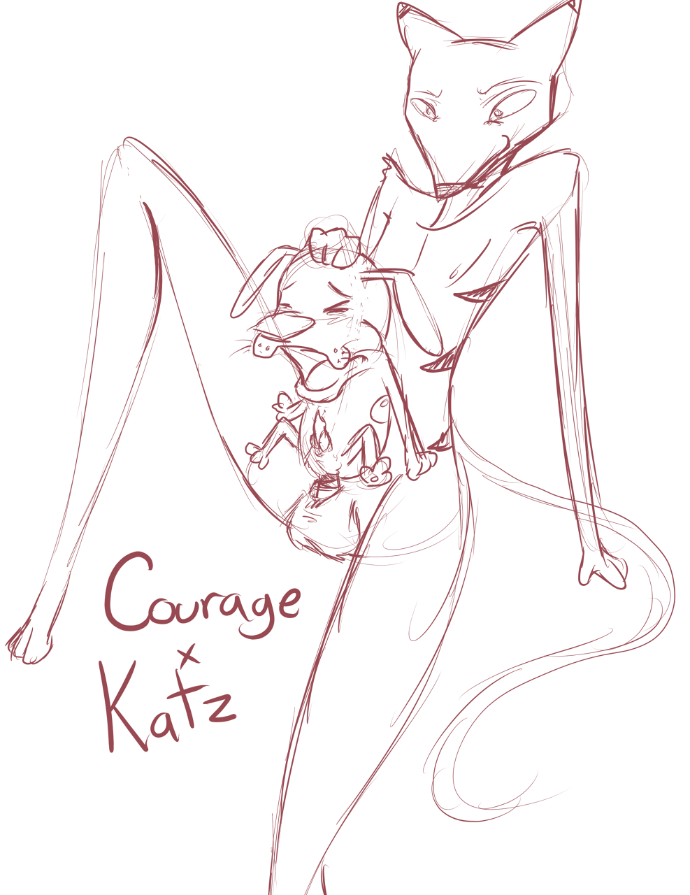 the the cowardly mask dog: courage Huniepop what to do with panties