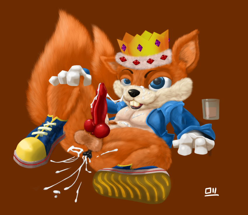 conker's fur bad day plant Trials in tainted space milodan