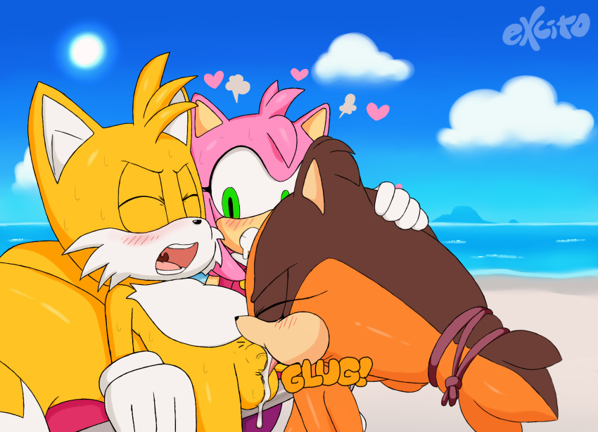 how old rose sonic amy in boom is Conker's bad fur day uga buga