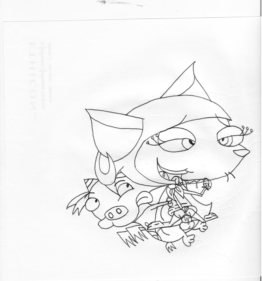 the courage dog katz from cowardly Pat two best friends play